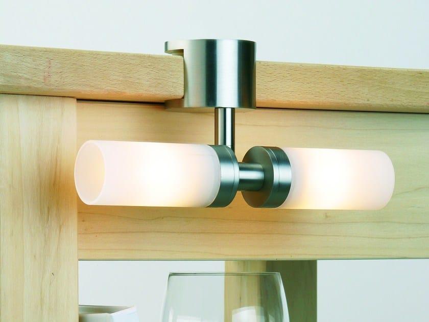 Illuminazione per mobili in vetro opale GLASSLIGHT SCREW by Top Light