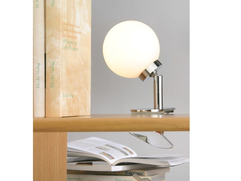 Adjustable opal glass table lamp GLASSLIGHT SPRING by Top Light