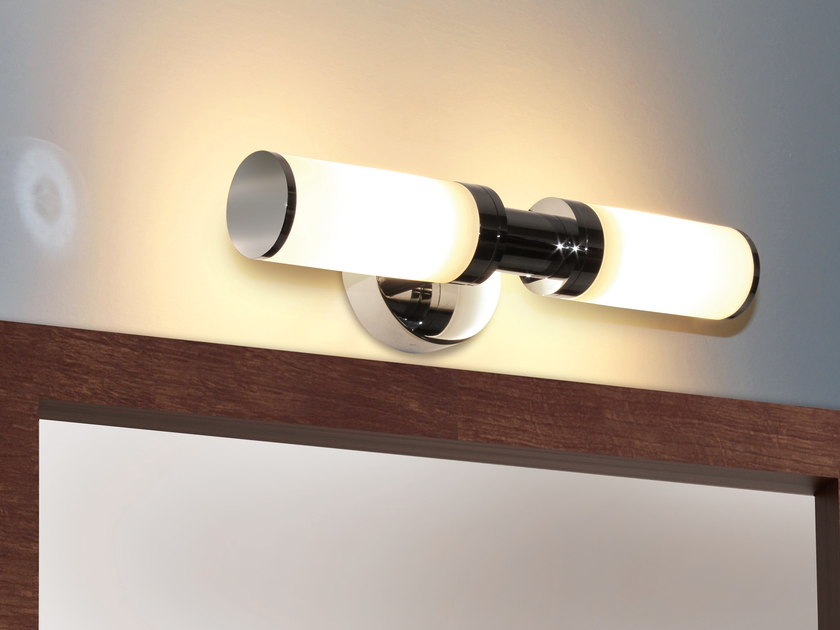 Applique orientabile in vetro opale GLASSLIGHT WALL by Top Light