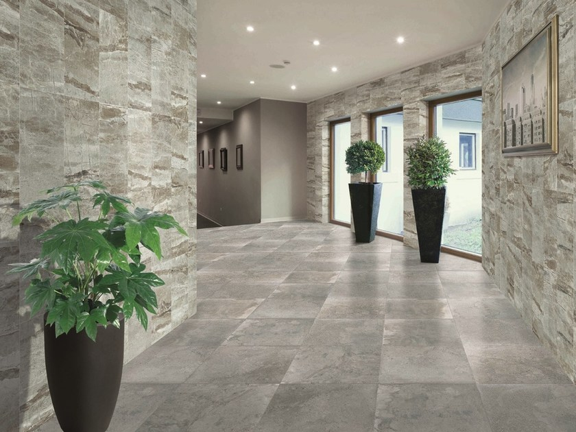 Ceramic granite wall/floor tiles with stone effect GLATCHER by ESTIMA CERAMICA