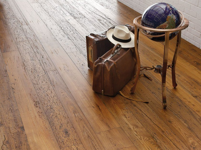 2 layers prefinished elm parquet GLI ANTICHI® | Elm parquet by Garbelotto