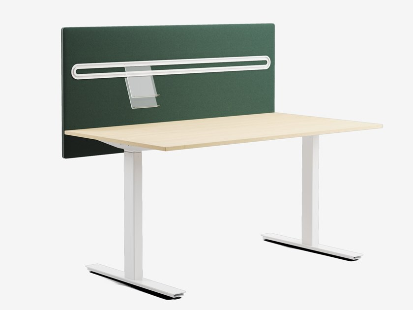 Sound absorbing workstation screen desktop partition GLIMMA TOOLBAR by Glimakra of Sweden