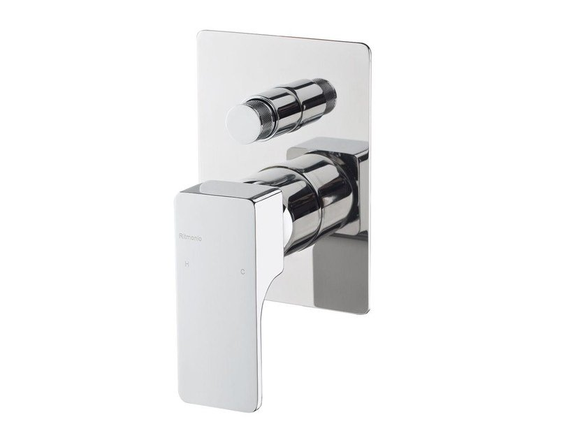 Single handle shower mixer with diverter GLITTER   Shower mixer with diverter by RITMONIO