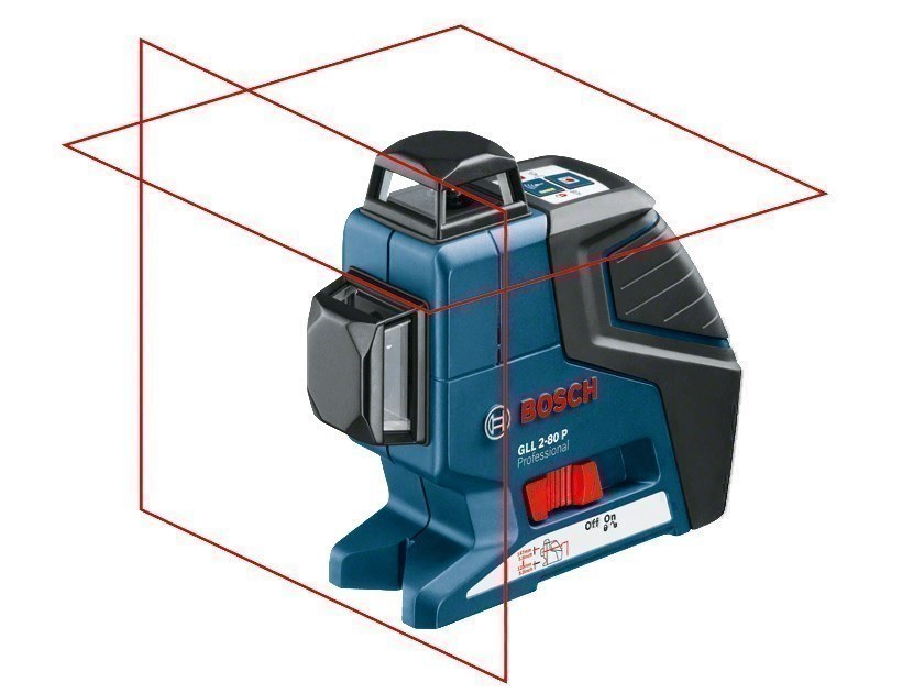 Optical and laser levels GLL 2-80 P Professional by BOSCH PROFESSIONAL