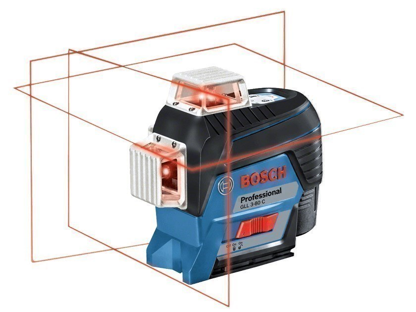 Optical and laser levels GLL 3-80 C Professional by BOSCH PROFESSIONAL
