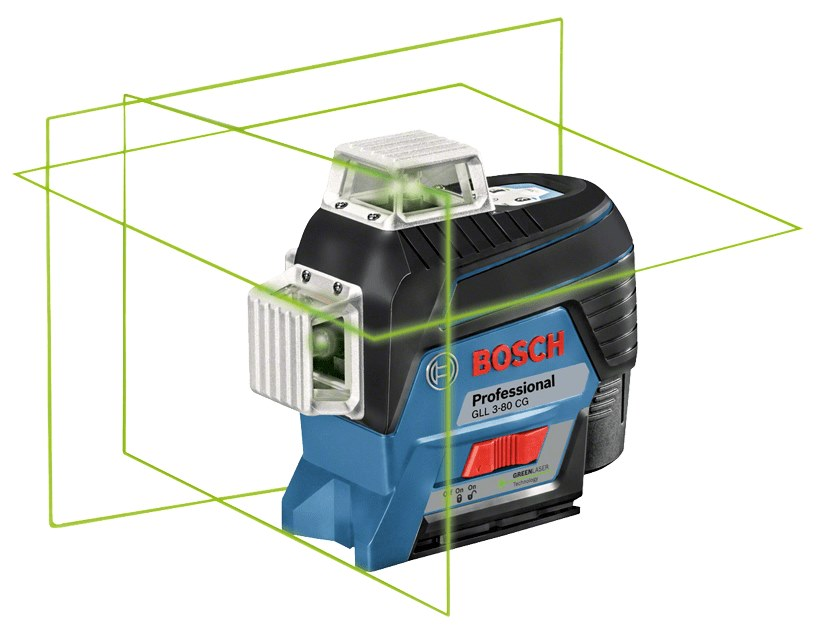 Optical and laser levels GLL 3-80 CG Professional by BOSCH PROFESSIONAL