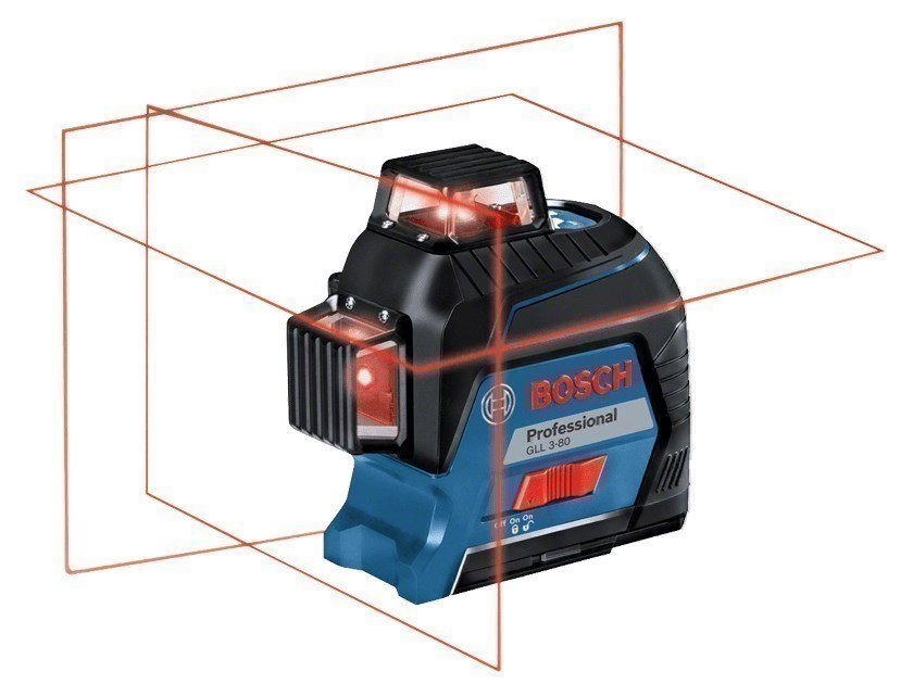 Optical and laser levels GLL 3-80 Professional by BOSCH PROFESSIONAL
