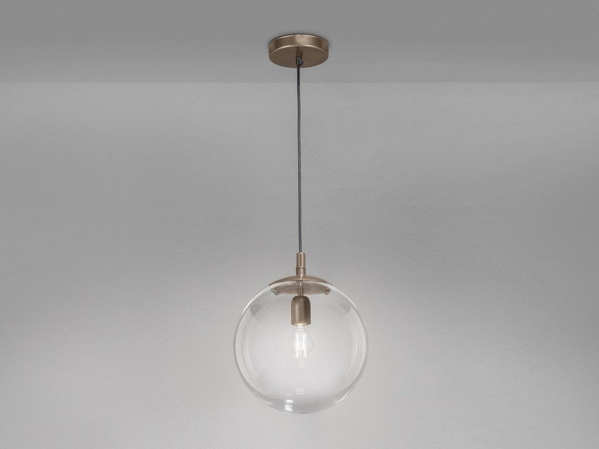 Metal pendant lamp GLOBAL Ø 60/ Ø 40/ Ø 30 by Metal Lux