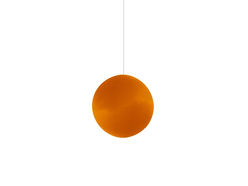 Hanging acoustical panel GLOBE | Hanging acoustical panel by Orbit
