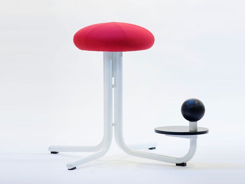 Office stool with 4-Spoke base GLOBE ONE by The Globe Concept