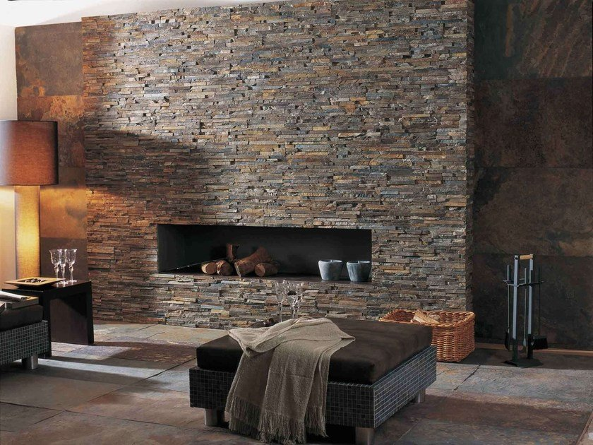 Natural stone wall tiles GLOBE by L'antic Colonial