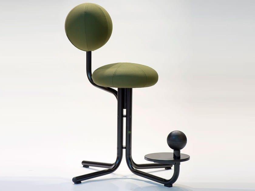 Sedia ufficio operativa ergonomica a razze globe two by the