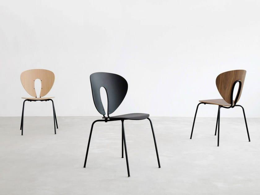 Globus stuhl aus holz kollektion globus by stua design jesús gasca
