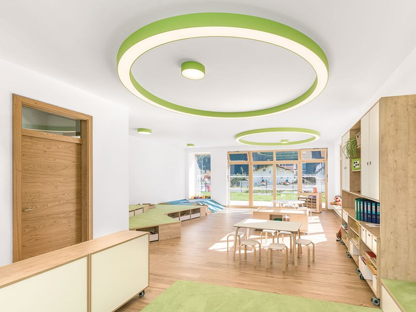 LED ceiling lamp GLORIOUS SURFACE by PROLICHT