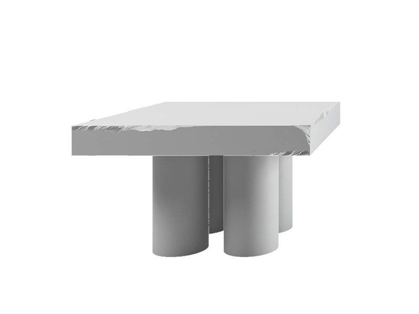 Square coffee table GLORY by Adriani e Rossi edizioni