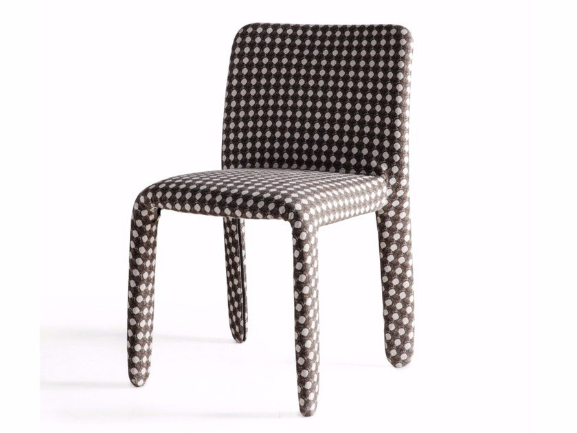 Fabric chair GLOVE-UP | Chair by Molteni&C