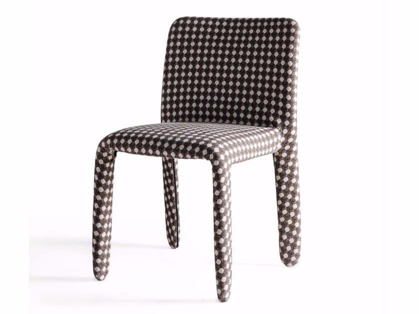 Sedia in tessuto GLOVE-UP | Sedia by Molteni