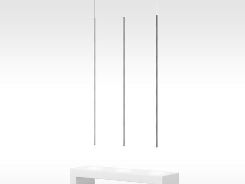LED direct light metal pendant lamp GLOW H1 by ILFARI