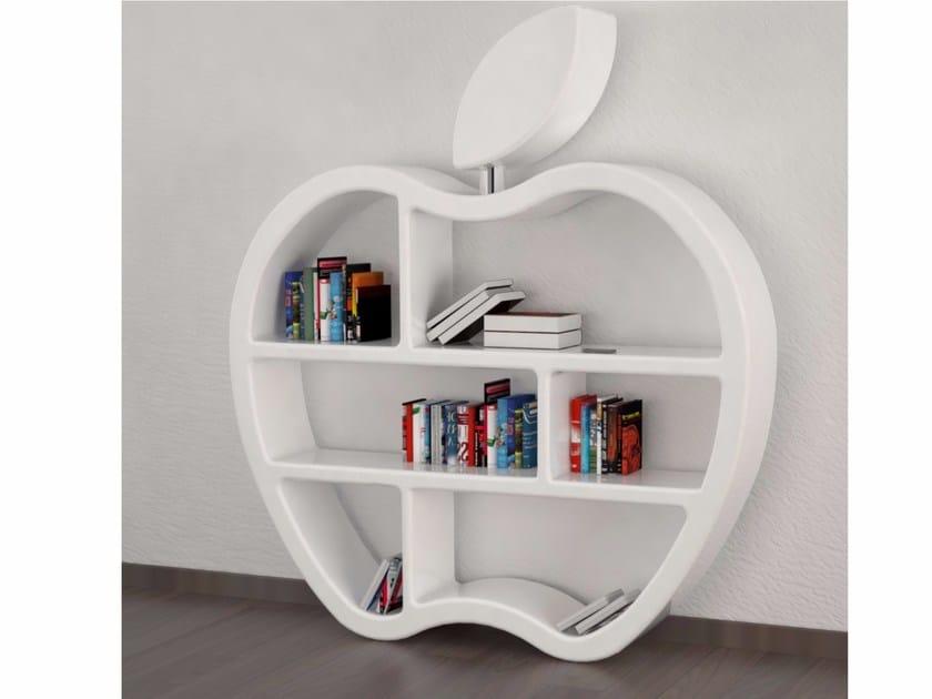 Libreria a giorno bifacciale in Adamantx® GLUTTONY by ZAD ITALY