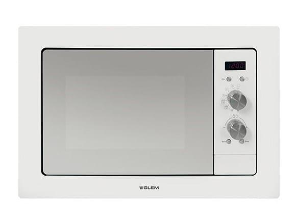 Forno a microonde da incasso gmi182wh forno a microonde glem gas - Forno a incasso a gas ...
