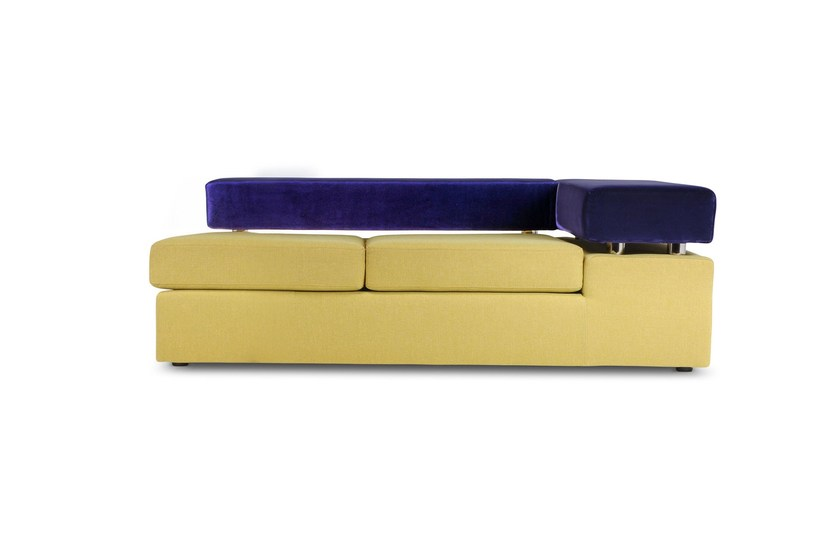 Upholstered 2 seater sofa GO | 2 seater sofa by Adrenalina