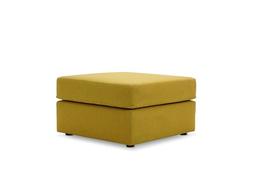 Upholstered pouf with removable lining GO | Pouf by Adrenalina