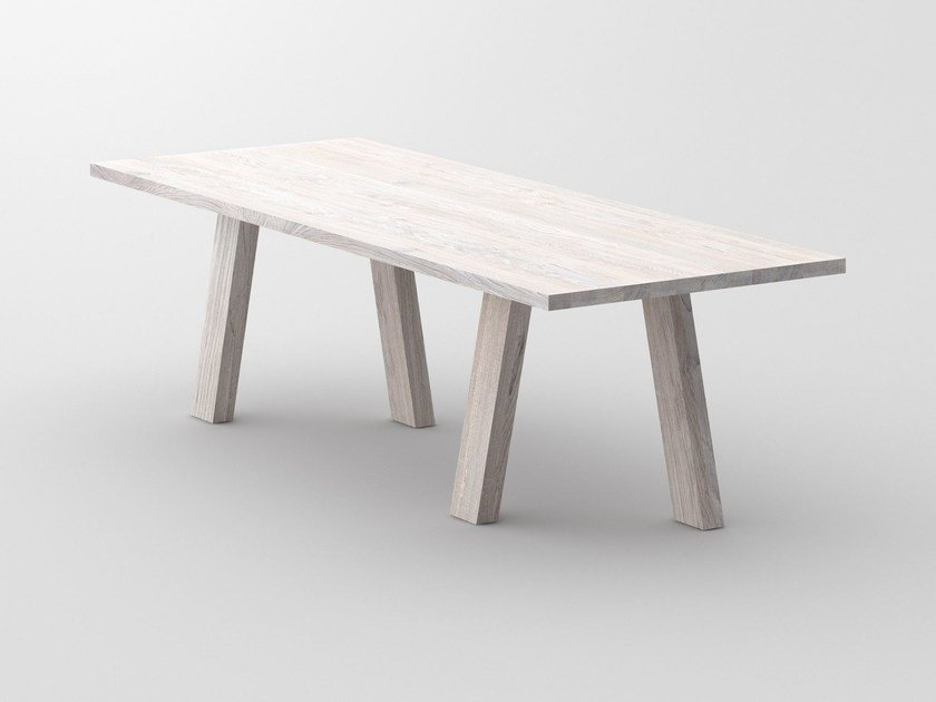Rectangular solid wood table GO | Table by Vitamin Design