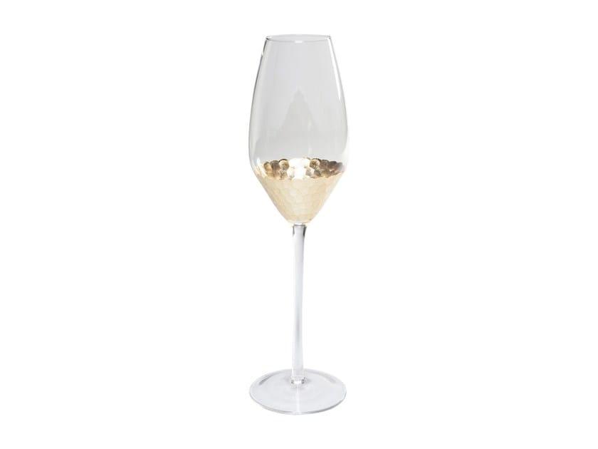 Glass champagne glass GOBI | Champagne glass by KARE-DESIGN