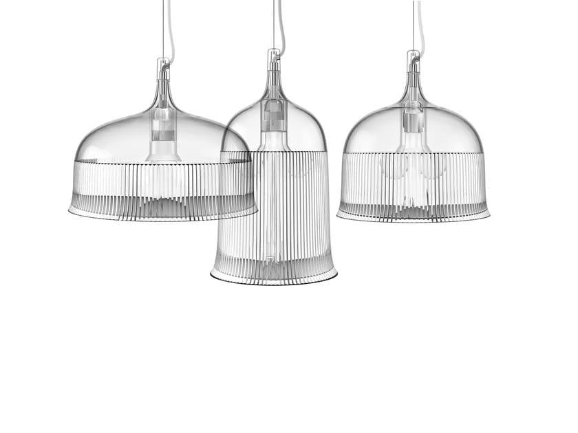 Polycarbonate pendant lamp GOBLETS   Pendant lamp by Qeeboo
