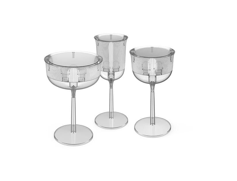 Lámpara de mesa de policarbonato GOBLETS | Lámpara de mesa by Qeeboo