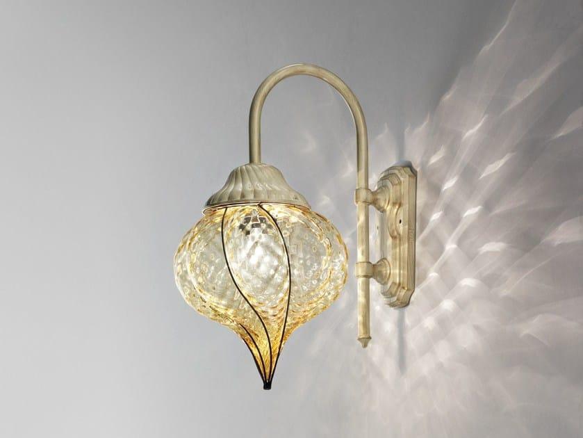Lampade In Vetro Di Murano : Lampada da parete in vetro di murano goccia eb 111 by siru