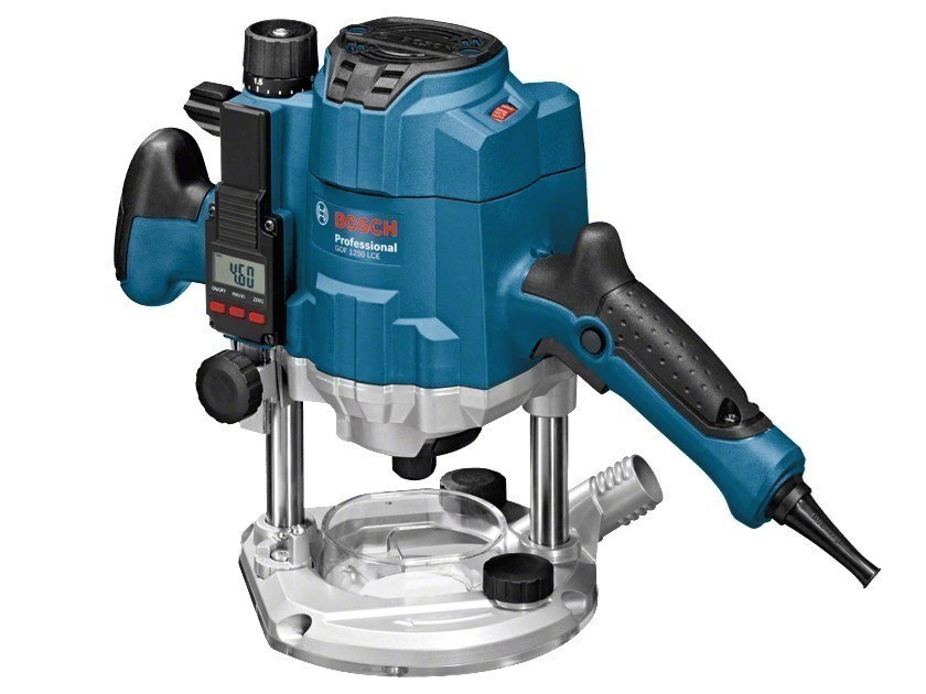 Special machinery for construction sites GOF 1250 LCE Professional by BOSCH PROFESSIONAL