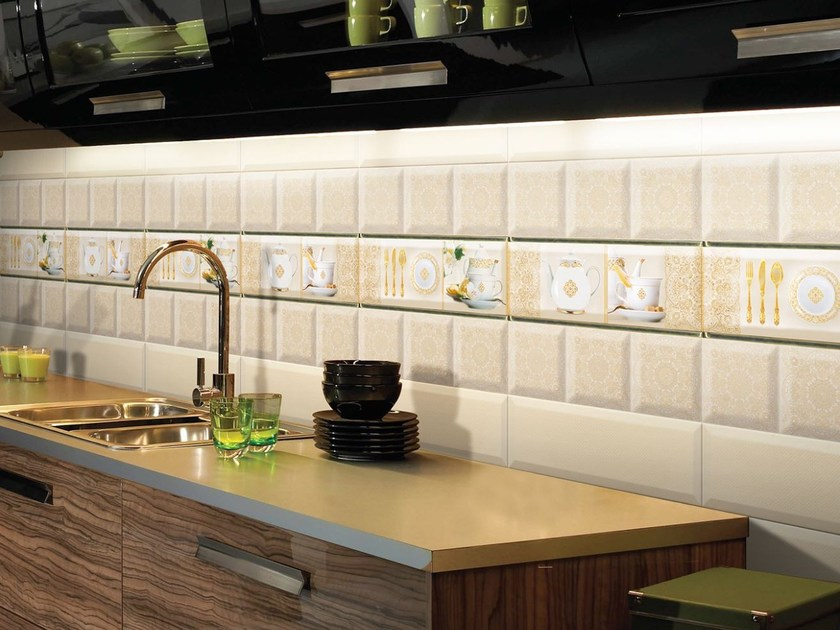 Ceramic wall tiles GOLD by Absolut Keramika