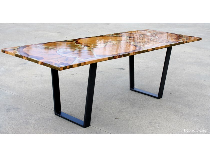 Rectangular living room table GOLD by ANTICO TRENTINO