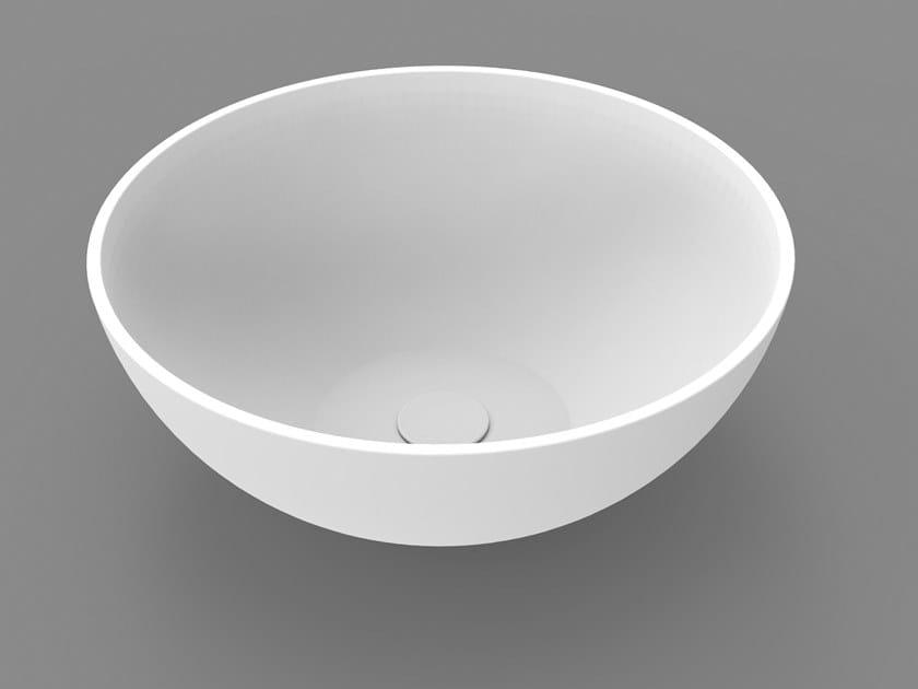 Countertop round washbasin GOLD BASIN 2 by DIMASI BATHROOM