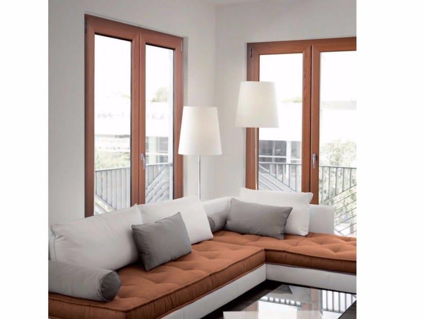 Aluminium and wood patio door GOLD EVOLUTION TT650 | Patio door by Cos.Met.