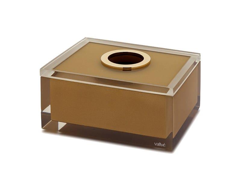 Resin Hand Towel Dispenser Gold Gloss By Vallvé