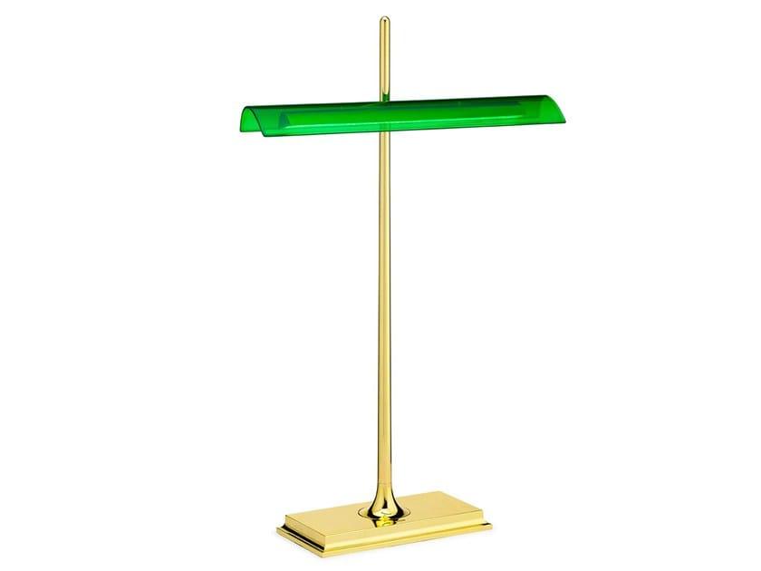 Lampada da tavolo a LED a luce diretta in metacrilato GOLDMAN by Flos