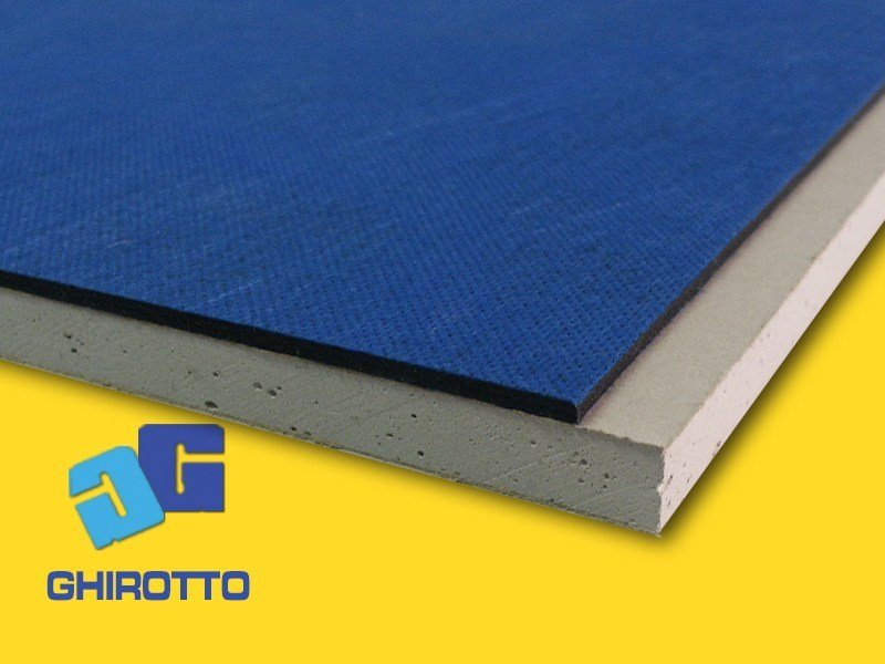 Sound insulation panel GOMMAPAN GIPS by GHIROTTO