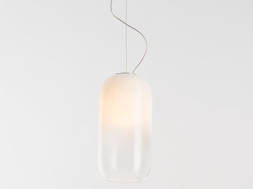 LED blown glass pendant lamp GOPLE | Pendant lamp by Artemide