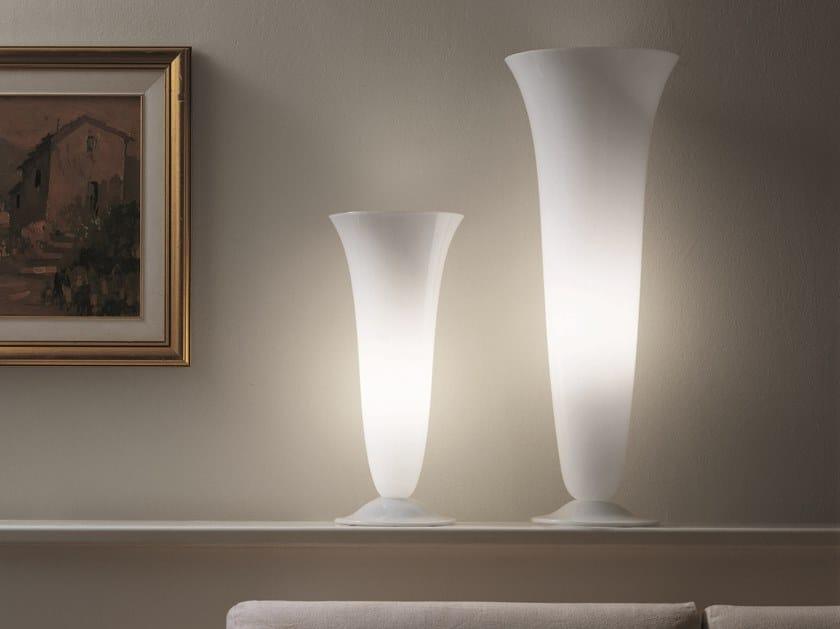 Blown glass table lamp GOTO LT by Vetreria Vistosi