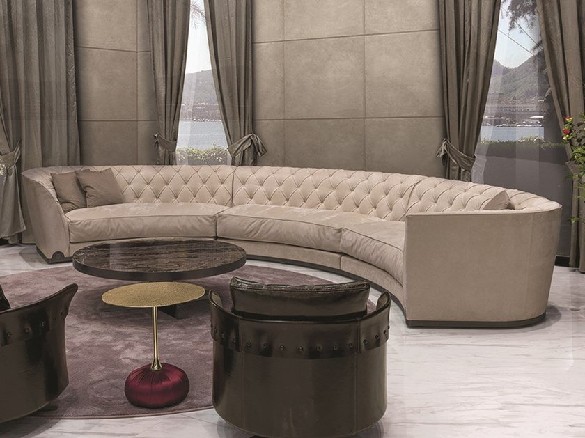 Sectional Curved Sofa