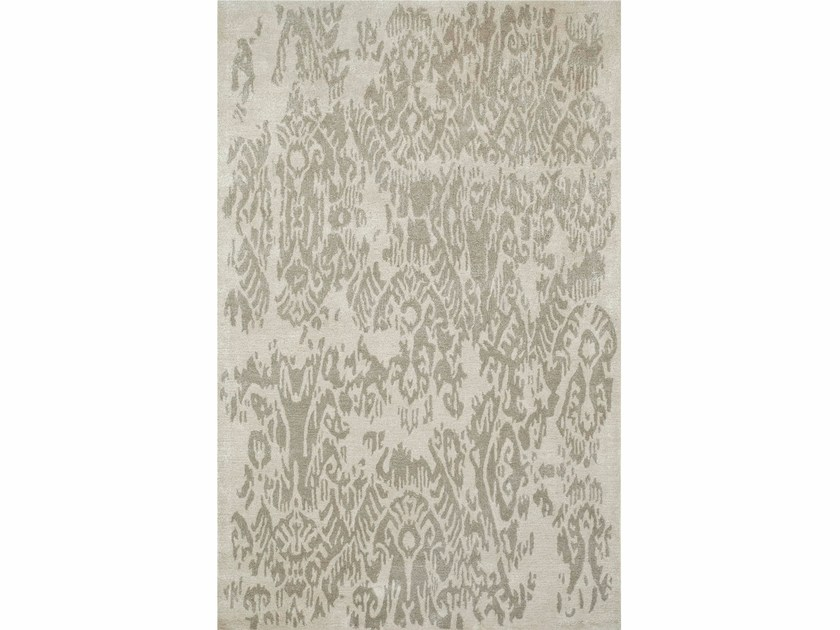 Patterned rug GRACEFUL TAQ-605 Antique White/Ashwood by Jaipur Rugs