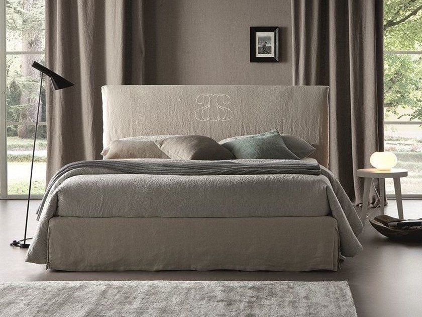 Linen bed with removable cover GRACO by Chaarme Letti
