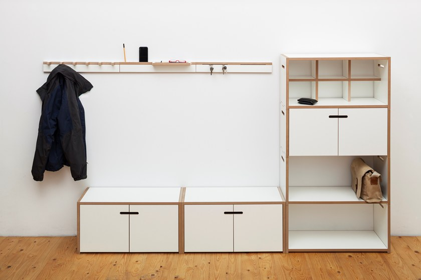 Tojo Möbel wall mounted mdf coat rack grad wardrobe by tojo möbel