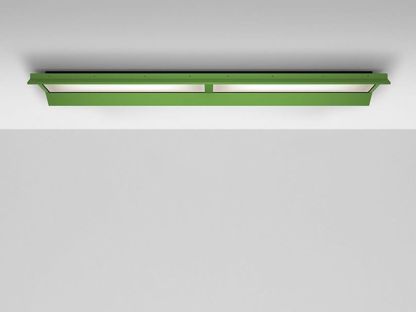 Lampada da soffitto a LED a luce diretta in alluminio GRADIAN 2400 X 300 | Lampada da soffitto by Artemide
