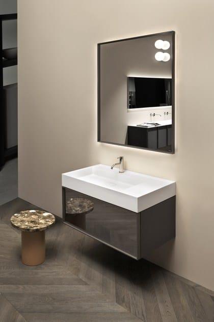 Graffio badezimmerausstattung by antonio lupi design for Design waschtischunterschrank