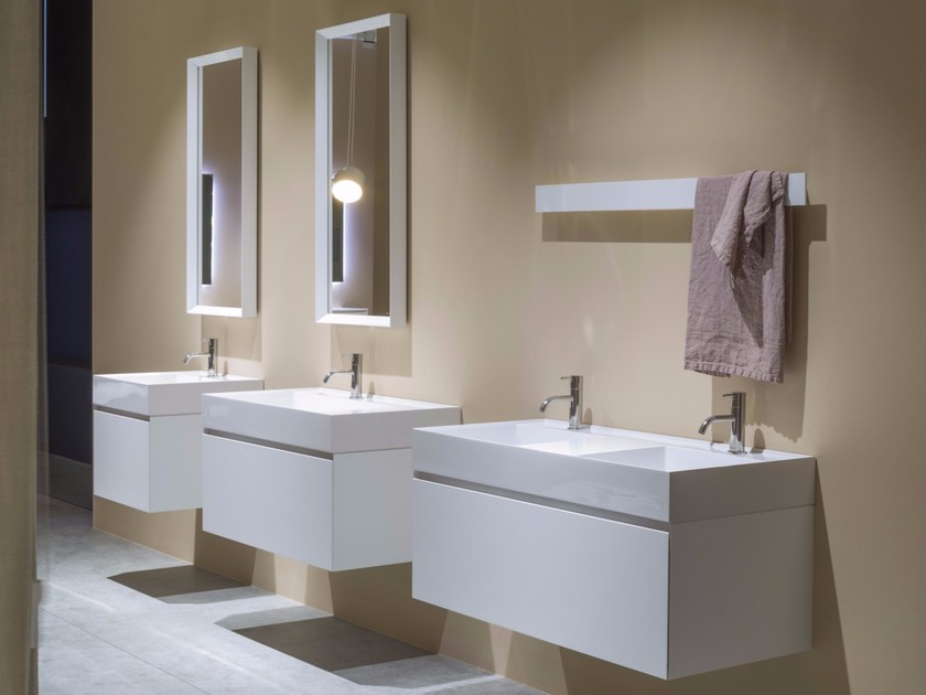 Graffio bathroom furniture set by antonio lupi design design