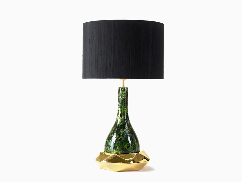 Direct-indirect light table lamp GRAHAM | Table lamp by MARIONI