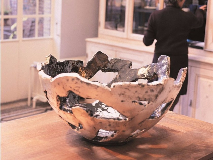Terracotta vase GRAIL by Domani